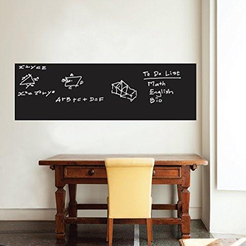 Walplus Wandtattoo, 200 x 45 cm, Motiv: britische Tafel, abnehmbar, selbstklebend, Vinyl, Heimdekoration, für Wohnzimmer, Schlafzimmer, Büro, Dekoration, Tapeten, Kinderzimmer, Geschenk, mehrfarbig