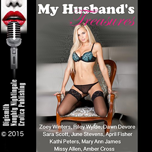 My Husband's Treasures: Twenty-Five Slut Wife Erotica Stories                   By:                                                                                                                                 Zoey Winters,                                                                                        Riley Wylde,                                                                                        Dawn Devore,                   and others                          Narrated by:                                                                                                                                 Layla Dawn,                                                                                        Vivian Lee Fox,                                                                                        Desiree Divine                      Length: 8 hrs and 35 mins     2 ratings     Overall 3.5