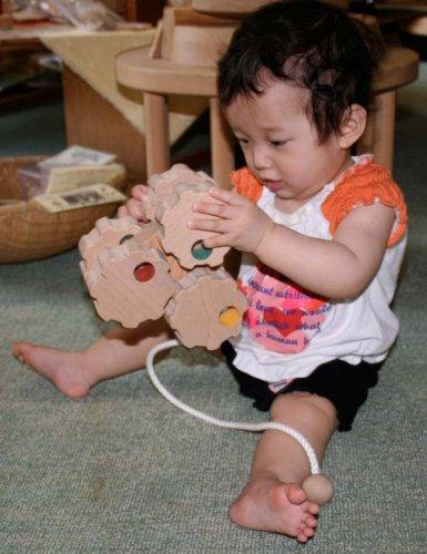 木のおもちゃ製作所・銀河工房『六輪車歯車タイプ』