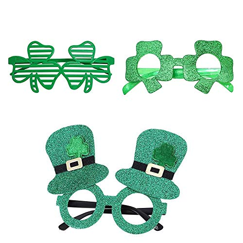 Kant Maskerade Masker Venetiaanse Oogmasker Vrouwen Sexy Oogmasker voor Halloween Carnaval Prom Party Kostuum Bal Bruiloft, St. Patricks Day Eyglasses Frame-3pcs
