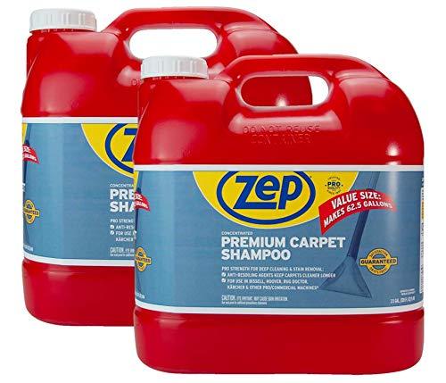 New! Zep Premium Carpet Shampoo 2.5 Gallon ZUPXC320 (Case of 2) Concentrated Formula