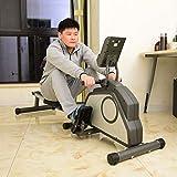 JHSHNEGSHI Rudergerät/Rudergeräte Indoor Rudergerät, Rudergerät mit 8-Widerstandsniveau, wartungsfrei und ruhig Magnet-Bremssystem, maximales Gewicht Benutzer 150 kg, faltbar - 3