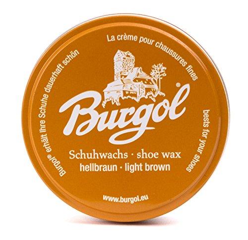 Burgol Burgol Schuhwachs Schuhcreme 100ml, HELLBRAUN