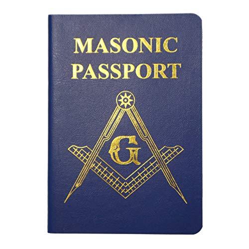 MasonicMan Masonic Passport For Recording Visits to New Freemasonry Lodge