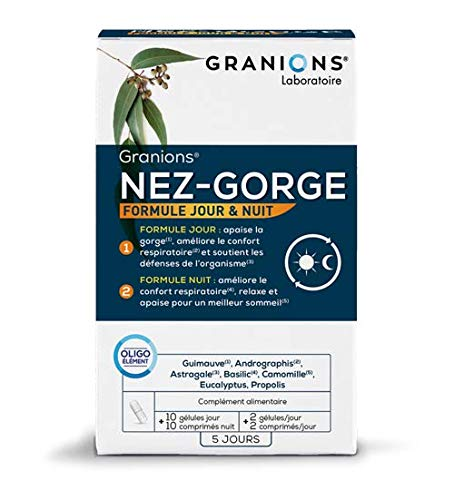 GRANIONS Nose Bra 10 Capsules + 10 Tablets