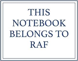 This Notebook Belongs to Raf