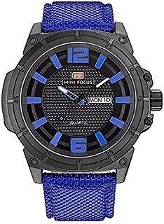 Mini Focus Nylon Casual Watch For Men - Blue, MF0136G
