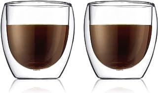 Bodum PAVINA Double Walled Thermo Glasses 0.25 L, 8 oz, Pair