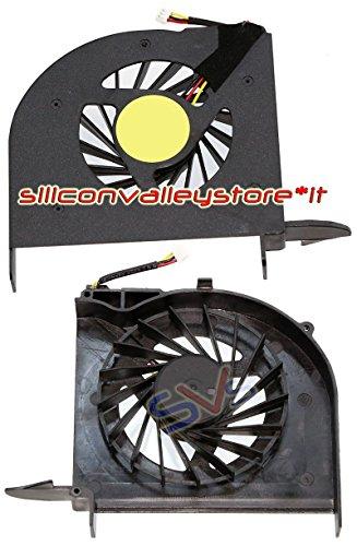 Siliconvalleystore Ventilador CPU Fan para portátil HP Pavilion dv6–expreso Portátil, DV6–2140eh, DV6–2140ei