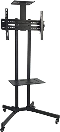 Cyber TV Floor Stand Trolley With Wheels For LED and LCD Screen
