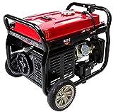Merax 4050-Watt 7.0 HP OHV 4 Gallon Gas Powered Portable Generator with Wheel Kit (4050 Watt)