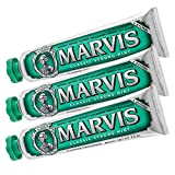 Marvis Toothpaste Classic Strong Mint 85ml, 3er Pack (3 x 85ml)