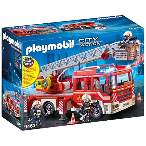 PLAYMOBIL City Action Camión de Bomberos con...