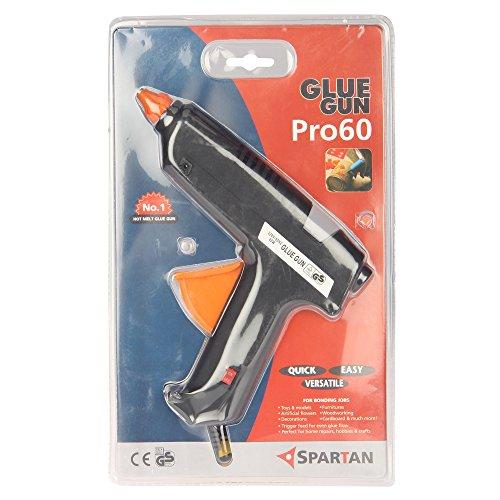 Spartan 60 Watt Glue Gun,Pro 60with 5 Pieces Spartan Glue Stick of 8 Inch Size