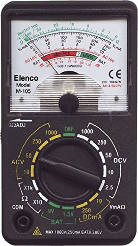 Best Review Of Elenco M105  15 Range Compact VOM