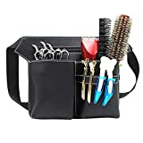 Majome Forbici professionali da parrucchiere, con tasca sul fianco, per parrucchieri, parrucchieri, accessori per parrucchiere, accessori da parrucchiere, borsa porta attrezzi da parrucchiere