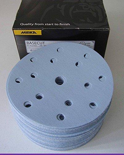 Mirka 2261109925 Basecut Grip 15L P240, 150 mm, 100 Pro Pack