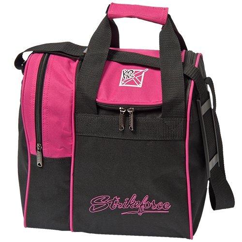 KR Strikeforce Rook Einkaufstasche, Unisex-Erwachsene, Rook Single Tote Bowling Bag- Pink, Rose, Single Ball
