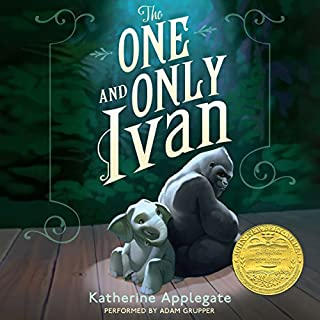 The One and Only Ivan                   By:                                                                                                                                 Katherine Applegate,                                                                                        Patricia Castelao                               Narrated by:                                                                                                                                 Adam Grupper                      Length: 3 hrs and 46 mins     11 ratings     Overall 4.9