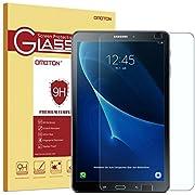 """OMOTON Samsung Galaxy Tab A 10.1"""" 2016 SM-T580N / T585N Protection D'écran Verre Trempé [Sans Bulles] Film Protecteur Ecran [Dureté 9H]"""