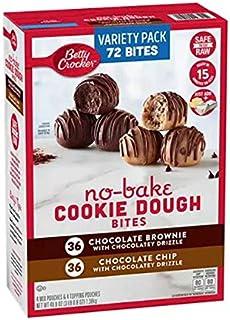 Betty Crocker No-Bake Cookie Dough Bites, Variety Pack (48 oz.)