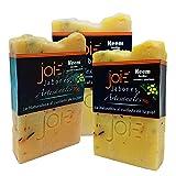 BeJoie   Jabones Artesanales   Presentacion de 3 Unidades   Jabon Facial – Jabon Corporal   Jabon en Barra Para Pieles Delicadas   Jabon con Neem y Lavanda   Natural   70 gr Por Unidad