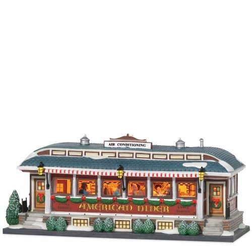 Department 56 Christmas in the City American Diner