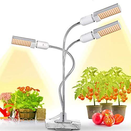 BAIYI Full Spectrum 3 hoofdkoppen Coltiva de groeiende lichten fyto lamp Growing Seeds camera planten in broeikas USB-klok clip in de camera