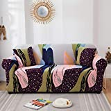 HXTSWGS Fundas Estilo Jacquard para sofá,Funda de sofá elástica con Todo Incluido para Muebles de Sala de Estar, Funda de sofá, Funda de sofá de 1/2/3/4 plazas, Color 17_190-230cm