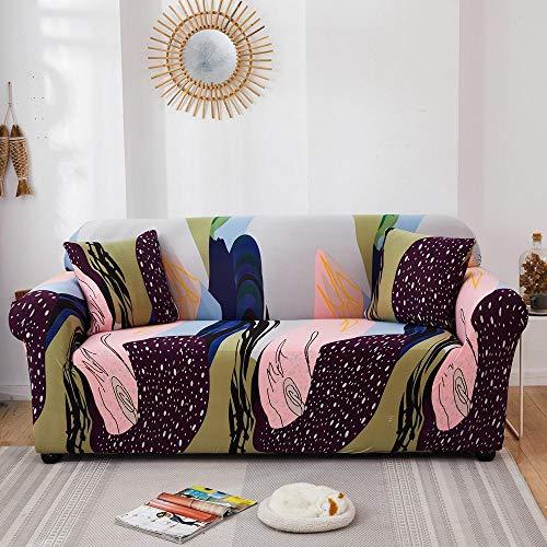 HXTSWGS Protectoras de Muebles,Funda de sofá elástica con Todo Incluido para Muebles de Sala de Estar, Funda de sofá, Funda de sofá de 1/2/3/4 plazas, Color 17_235-300cm