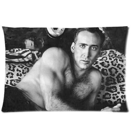 "Nicoge Custom Nicolas Cage Pillowcase Standard Size 20""X30"" Design Pillow Case Cover"