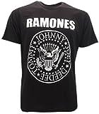 Camiseta negra Ramones – Camiseta original – Enviada XS S M L XL Negro XXL