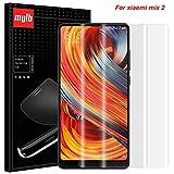MYLB [2 Pack] Pellicola Salvaschermo per Xiaomi Mi Mix 2, Soft TPU Pellicola protettiva Full screen per Xiaomi Mi Mix 2