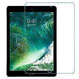 【 ブルーライトカット】iPad 9.7 フィルム iPad Pro 9.7 フィルム (2018 / 2017 新型) Air2 / Air/iPad 9.7インチ 目の疲れ軽減 日本旭硝子素材製 0.3mm 三倍強化 ガラス 液晶保護フィルム 硬度9H 気泡自動排除 スクラッチ 指紋防止
