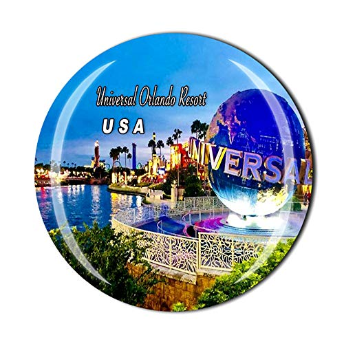 Time Traveler Go Universal Orlando Resort Florida USA 3D Refrigerator Magnet Souvenir Gift Home Kitchen Decoration Magnetic Sticker