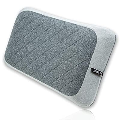Leisure Co Ultra-Portable & Ultralight Camping Pillow - Perfect Compact Inflatable Pillow for Backpacking, Travel, Back Lumbar Support, Camp Trips, Planes and More!
