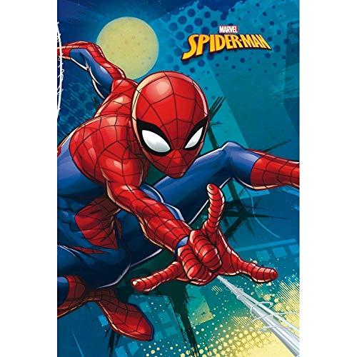 Star Marvel Spiderman Art. 55890 - Coperta con Stampa, Dimensioni 100 x 150 cm