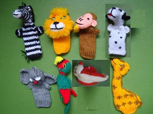 muy popular Hand Made Wool Finger Puppets by Finger Finger Finger Zoo  cómodamente