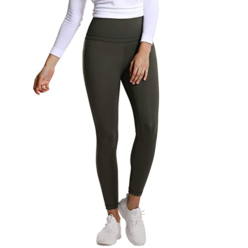 a4adaede1bae6b CRZ YOGA Women's Hugged Feeling High-Rise 7/8 Tight Workout Running  Compression Leggings