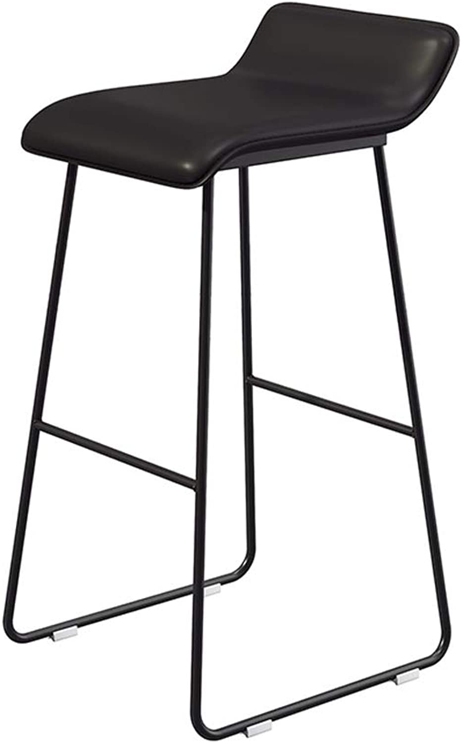 Yan Fei Bar Stool, Coffee Lounge Stool, Wrought Iron Padded bar Chair, 5 colors, Size  65 cm   70 cm   75 cm Comfortable Stools (color   A, Size   L)
