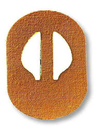 FixTape atmungsaktives Sensor-Tape für Medtronic Enlite I selbstklebendes Patch für Glukose-Sensor mit hohem Trage-Komfort I hautfreundlich und wasserfest in modernen Designs I 7 Stück (Beige)