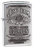 Zippo Lighter Jim Beam Label The World's No 1 Bourbon...
