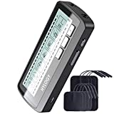 TENS Machine for Pain Relief, HYLOGY Dual Channel Tens Unit Muscle Stimulator Massager