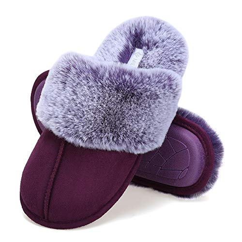 HIGH SCHOOL MUSICAL GIRLS FAUX FUR LINED HOUSE WINTER INDOOR BOOTIE SLIPPERS