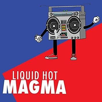 Liquid Hot Magma
