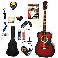 レジェンド アコースティックギター 初心者入門15点セット LEGEND FG-15 RS レッドシェイド