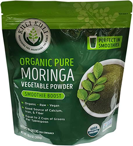 Kuli Kuli Organic Moringa Powder, 10.6 Ounce