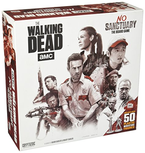 Unbekannt Cryptozoic Entertainment CRY02095 Walking Dead AMC Base, Mehrfarbig