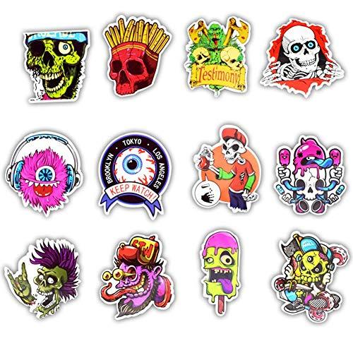 Aufkleber Pack [50-PCS], Graffiti Decal Vinyl Stickers für Koffer Laptop Skateboard Kinder Auto Motorrad Fahrrad Snowboard Comic Aufkleber Sticker