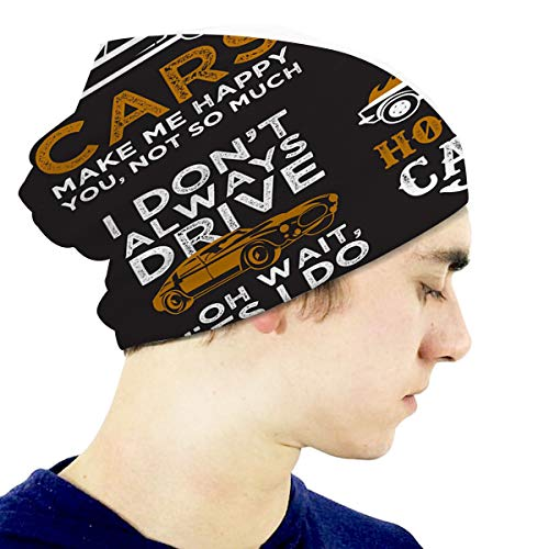 YILINGER Toddler Soft Cute Hats Funny Car Saying Quote 100 Best Pillow Mug Other Skull Ca